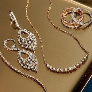 额外8折独家:Saks OFF 5TH 珠宝首饰专场 珍珠手链$91,VCA相似款$42