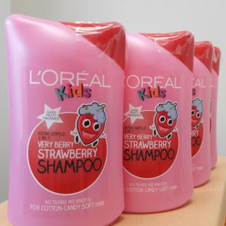 超值¥117.65,2件免邮L'Oréal 儿童2合1草莓洗发水 250ml*6 无泪无刺激
