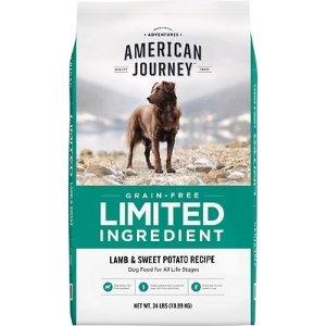 American JourneyLimited Ingredient 无谷羊肉红薯狗粮 24lb