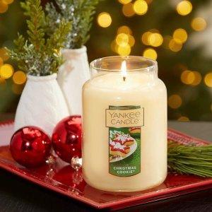 低至4折 €8.5即可收Yankee 美国老牌香薰蜡烛 高级精美的香烛 新年送礼首选