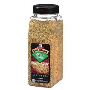 $4.93McCormick 蒙特利尔口味烤鸡烧烤粉