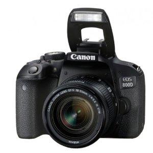 $898(原价$998)Canon EOS 800D 单反相机