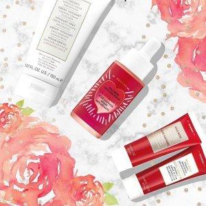 送精美护肤礼盒(三款可选)KORRES 全场美妆促销 收酸奶洁面、玫瑰油
