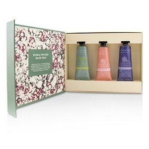 Crabtree & EvelynCrabtree & Evelyn - Floral Winter Hand Trio (1x Lavender & Espresso, 1x Rosewater & Pink Peppercorn, 1x Pear & Pink Magnolia) 3x25ml/0.86oz - Sets & Coffrets | Free Worldwide Shipping | Strawberrynet USA