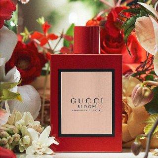 Selfridges独家上架 50毫升仅€93Gucci 新款香水上市 正红色香水你一定要有 新年必备
