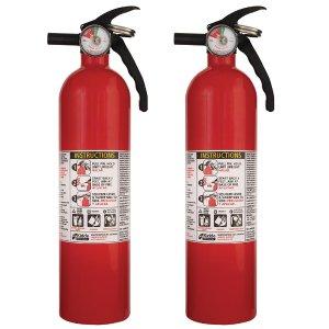 Kidde 1-A:10-B:C Recreational Fire Extinguisher (2-Pack)