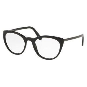 Prada PR 07VV 黑色猫眼镜框