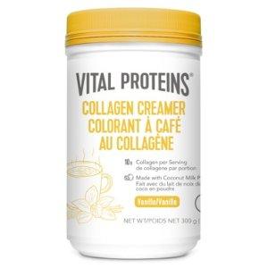 每份含10g胶原蛋白香草味胶原蛋白奶粉