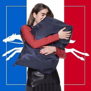 低至5.8折 £62起收简约购物袋Longchamp 超多经典款饺子包折扣热卖