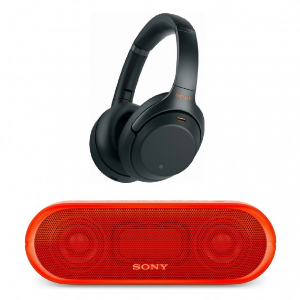 $348 w/ Bluetooth SpeakerSony WH-1000XM3 Wireless Noise-Canceling Headphones