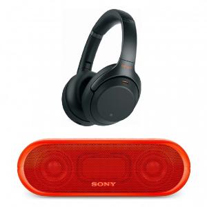 $348 免税包邮 金色版补货Sony WH-1000XM3 无线降噪耳机 送SONY蓝牙音箱