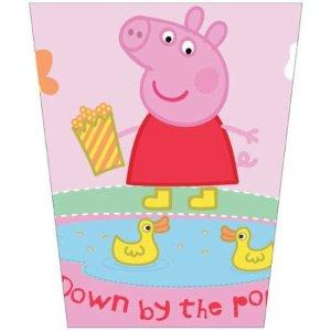 Peppa Pig塑料垃圾桶