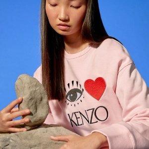 75折 £71收经典款Logo T恤10周年独家:Kenzo 包包服饰热卖 虎头系列速收