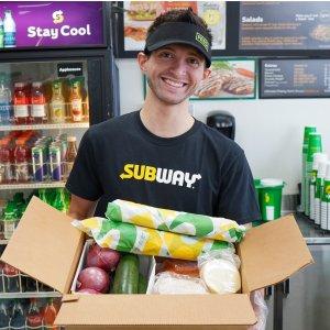 Panera Bread、Subway等餐厅开启卖生鲜服务