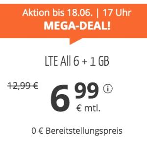 月租仅€7.77 免除€19.99接通费