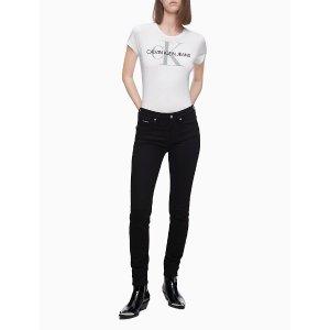Calvin Klein满$125减25Logo T恤
