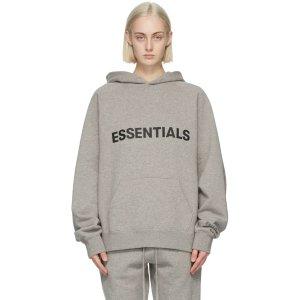 EssentialsGrey Logo 卫衣