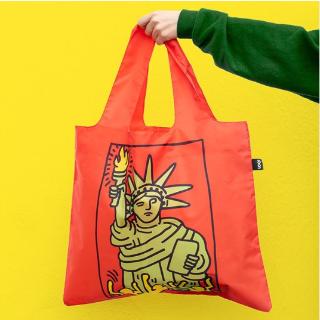 低至2.5折 £4.99收博物馆系列LOQI 购物袋 高颜防水可折叠 逛街出游轻松背