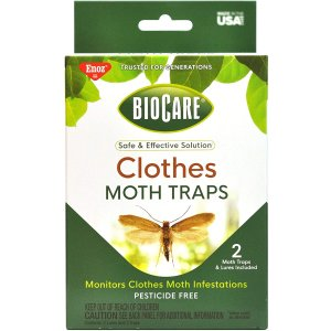 BioCare Clothes Moth Sticky Traps with Pheromone Lures