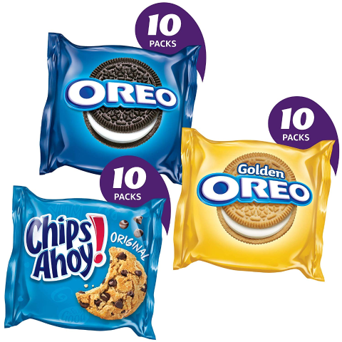 $6 + Free ShippingNabisco Sweet Treats Cookie Variety Pack 30 Snack Packs