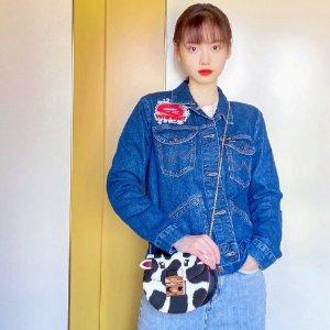 Furla孙伊涵同款奶牛斜挎包