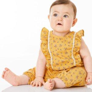 包邮 低至3.3折 $4起折扣升级:Carter's官网 儿童服饰限时开门大抢购