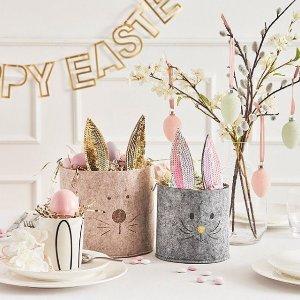$3.95起,Jellycat 8折David Jones Easter复活节 彩蛋&兔子周边产品专题