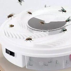 低至5.4折 睡个好觉就靠它了家用电动灭蝇神器  全自动旋转捕蝇机 别让苍蝇蚊子再来烦你啦