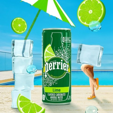 $10.02 + Free ShippingPerrier Lime Flavored Carbonated Mineral Water (30 Pack)
