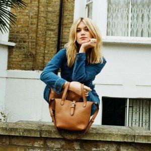 Meli MeloThela Mini Shopper Tan Brown Leather Cross Body Bag for Women