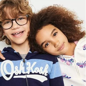 60% Off + 25% OffOshKosh BGosh Kids Hoodies & Pullovers on Sale