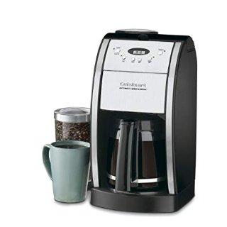 $21.60史低价:Cuisinart 12杯自动咖啡机 一键现磨