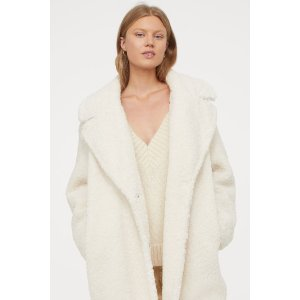 H&M泰迪熊大衣