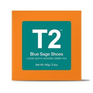 Blue Sage Shoes Loose Leaf Gift Cube - T2 APAC   T2 TeaAU