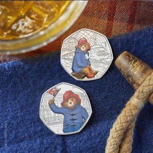 75折 数量有限英国皇家铸币厂年末大促 2018年帕丁顿熊系列