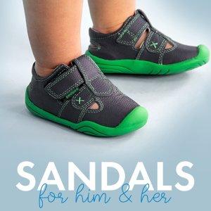 $18-$25封顶 原价高达$69.95即将截止:pediped OUTLET 儿童凉鞋一日闪购