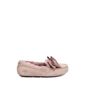 UGG蝴蝶结乐福鞋