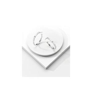 Ritani Signature Hoop Earrings