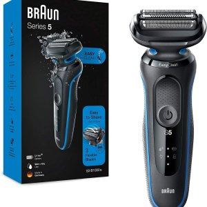 6折 €65.99(原价€109.78)黑五价:Braun 博朗5系剃须刀套装热促 全新设计更加好用