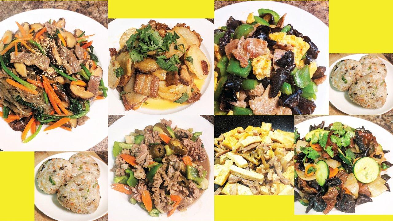 晚餐7天不重样   荤素搭配的快手家常菜
