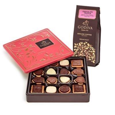 松露咖啡粉&巧克力饼干礼盒,含46块