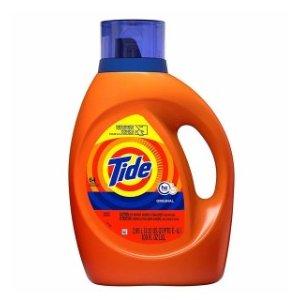 Tide 汰渍洗衣液超大瓶 $8.97