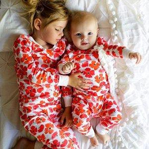 额外7折aden + anais 婴幼儿分体式睡衣2件套,多款可选