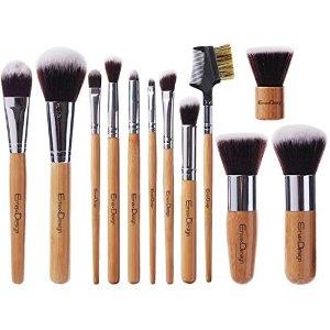 $10.99 (原价$49.99)EmaxDesign 化妆刷具12件套装 适合新手