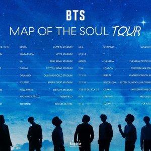 4月開唱 搶票中 $191起BTS 防彈少年團 2020北美巡演日期公布,9大城市連開15場
