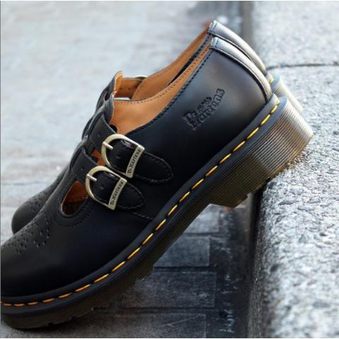 3折起!黑色玛丽珍鞋£49Dr. Martens 超强大促 1460、1461、 玛丽珍鞋等爆款速入