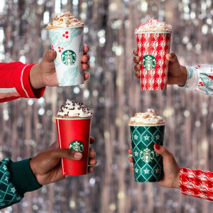 FREE w/ Handcrafted Holiday Drink
