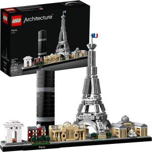 $59.97(原价$69.99)LEGO 乐高 Architecture 21044建筑系列 巴黎天际线