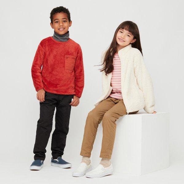 儿童弹力保暖裤