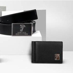 美杜莎头像腰带仅¥479独家:Versace 范思哲男士配件精选 额外7.3折,免邮中国